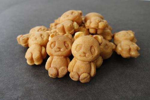 大人気!かわいいパンダ焼きが期間限定オープン! 花神楽『パンダ焼き』