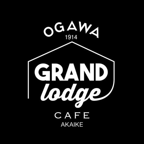 オガワ グランド ロッジ カフェ ロゴ