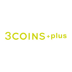3COINS+plusのロゴ画像